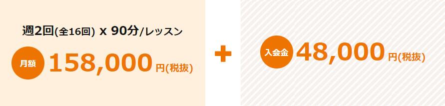 24/7 ENGLISHの料金表
