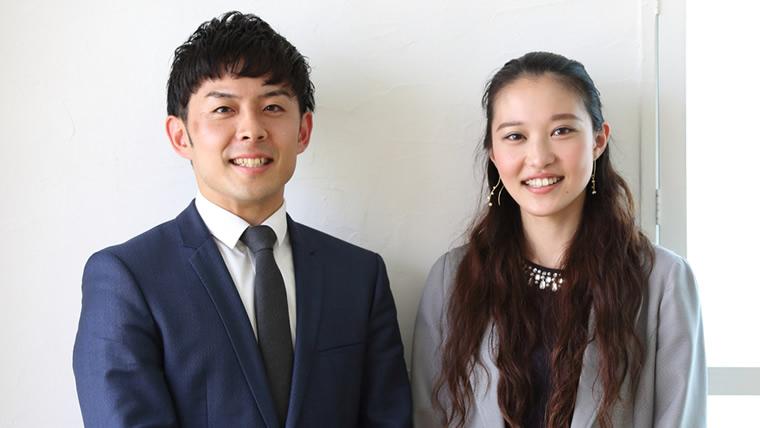 PROGRITの男性コンサルタントと女性コンサルタントの写真