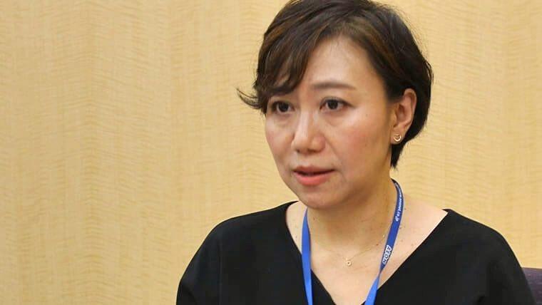 インタビューに答える堀田和江様の画像